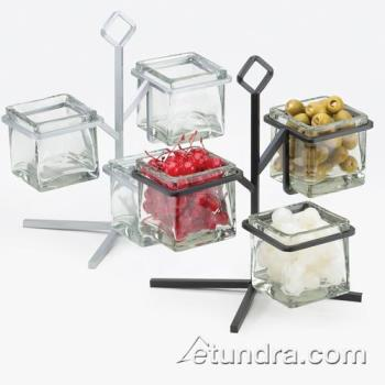CLM180413 - Cal-Mil - 1804-13 - 3-Tier Black 4 in Jar Display Product Image