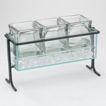 CLM1806713 - Cal-Mil - 1806-7-13 - Iced Black 4 in Jar Display Product Image