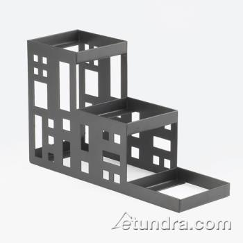 CLMC160413 - Cal-Mil - C160413 - 3-Tier Black 4 in Jar Display Product Image