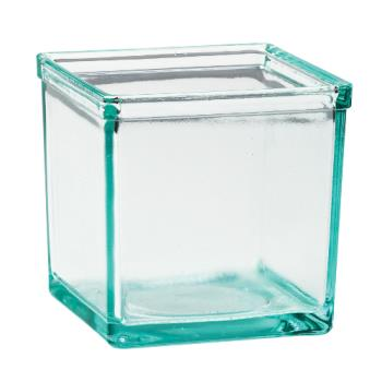 CLMC5X5GLASS - Cal-Mil - C5X5GLASS - 5 in x 5 in Glass Jar Product Image