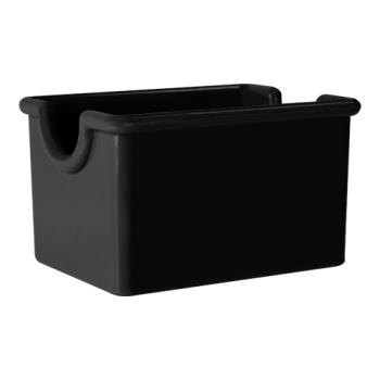 "GETSC66BK - GET Enterprises - SC-66-BK - 3 1/2"" x 2 1/2"" Black Sugar Caddy Product Image"