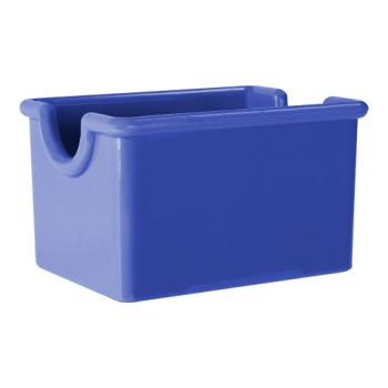 GETSC66PB - GET Enterprises - SC-66-PB - 3 1/2 in x 2 1/2 in Peacock Blue Sugar Caddy Product Image