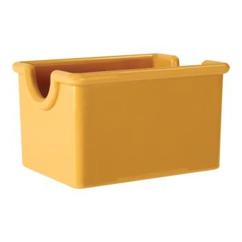 GETSC66TY - GET Enterprises - SC-66-TY - 3 1/2 in x 2 1/2 in Tropical Yellow Sugar Caddy Product Image