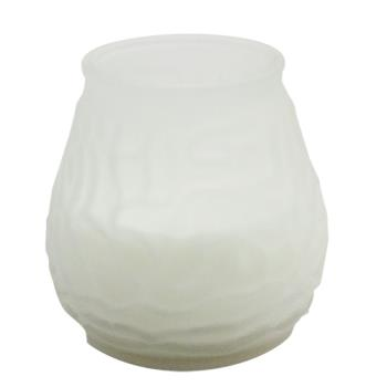 58481 - Candle Lamp - M0012F6 - 6 Hour White Venetian Candle Product Image