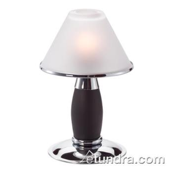 HLW046PCB - Hollowick - 046PC+B - Chrome & Black Candlestick Tealight Lamp Product Image