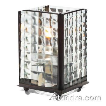 HLW1400CSQO - Hollowick - 1400CSQO - Clear Optic Glass Large Panel Lamp Product Image