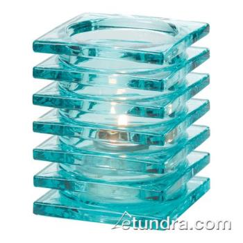 HLW1501AQ - Hollowick - 1501AQ - Aqua Stacked Block Lamp Product Image
