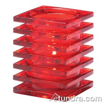 HLW1501R - Hollowick - 1501R - Ruby Stacked Block Lamp Product Image