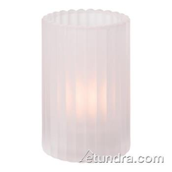 HLW1502SC - Hollowick - 1502SC - Satin Crystal Vertical Rod Cylinder Lamp Product Image