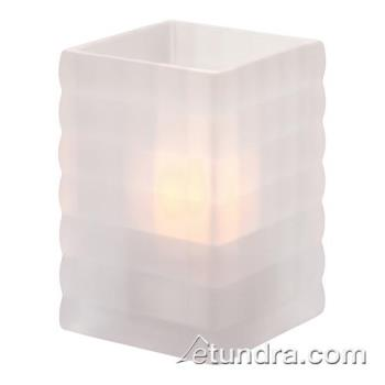 HLW1533SC - Hollowick - 1533SC - Optic Block Satin Crystal Lamp Product Image