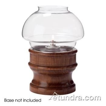 HLW46C - Hollowick - 46C - Clear Mushroom Fitter Globe Product Image