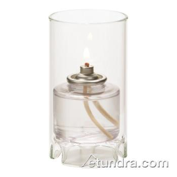 HLW48017C - Hollowick - 48017C - Mini Clear Glass Cylinder Lamp Product Image