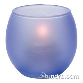 HLW5119SDB - Hollowick - 5119SDB - Satin Dark Blue Bubble Tealight Lamp Product Image