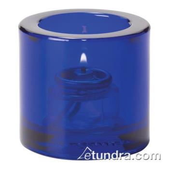 HLW5140CBL - Hollowick - 5140CBL - Cobalt Blue Round Tealight Lamp Product Image