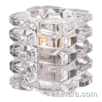 HLW5151C - Hollowick - 5151C - Clear Faceted Cube Votive Lamp Product Image