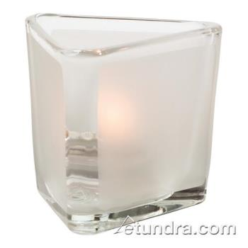 HLW6106F - Hollowick - 6106F - Satin Crystal Panel Votive Lamp Product Image