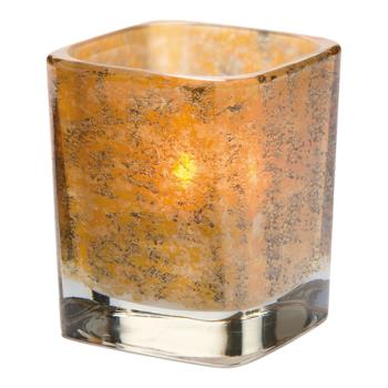 HLW6505AG - Hollowick - 6505AG - Tetra Antique Gold Votive Lamp Product Image