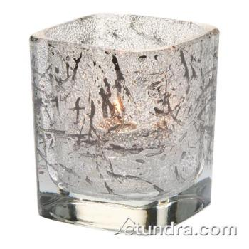 HLW6588IBK - Hollowick - 6588IBK - Tetra Splash Black Votive Lamp Product Image
