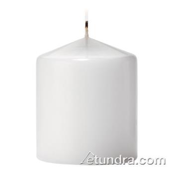 "HLWP3X3W12 - Hollowick - P3X3W-12 - Select Wax 3"" White Pillar Candle Product Image"
