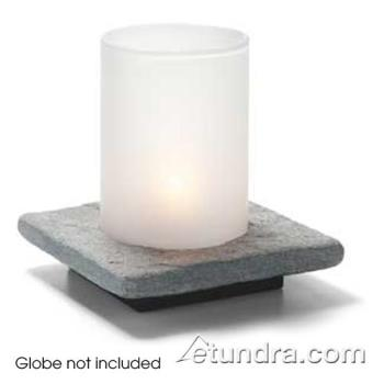 HLWZENGSL - Hollowick - ZEN-GSL - Zen Single Grey Slate Base Product Image