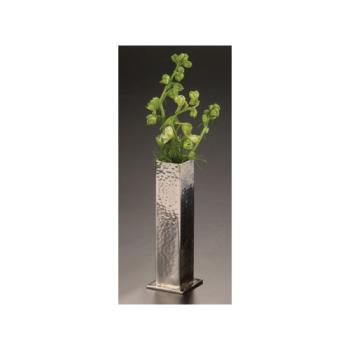 AMMHMBV1 - American Metalcraft - HMBV1 - 1 3/4 in Sq Hammered Stainless Steel Bud Vase Product Image