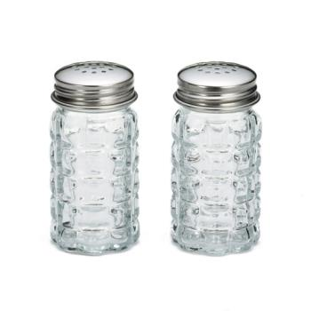 58817 - Tablecraft - 163S&P - 1 1/2oz Glass Salt Pepper Shaker with Top Product Image
