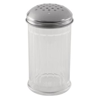 85704 - Adcraft - PSJ-12PT - 12 oz Plastic Cheese Shaker Product Image