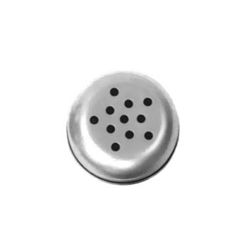 AMM3312T - American Metalcraft - 3312T - 12 oz Cheese Shaker Top w/Large Holes Product Image
