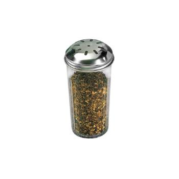 AMM3317 - American Metalcraft - 3317 - 12 oz SAN Tapered Spice Shaker w/Top Product Image