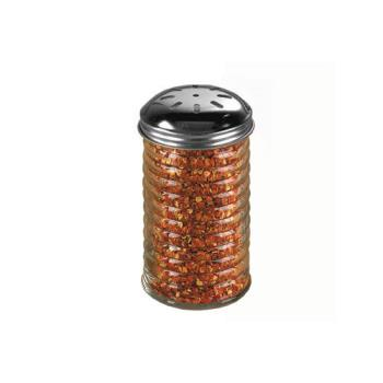 AMMBEE317 - American Metalcraft - BEE317 - 12 oz Glass Beehive Spice Shaker w/Top Product Image