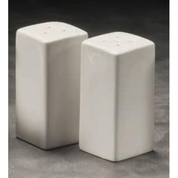 "75727 - American Metalcraft - CSPS3 - 3 1/4"" Square Ceramic Salt & Pepper Set Product Image"
