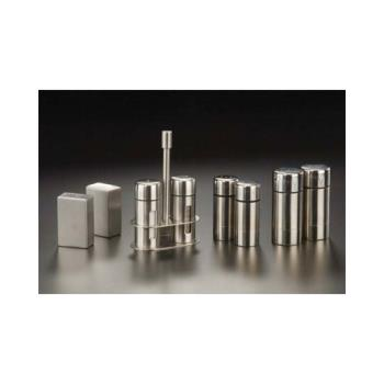 AMMSP35 - American Metalcraft - SP35 - 3 1/2 in Round Stainless Steel Salt & Pepper Set Product Image