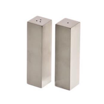 75082 - American Metalcraft - SPDX33 - 2 oz Rectangular Stainless Salt & Pepper Set Product Image