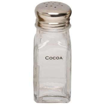 ESP05100COC - Espresso Supply - 05100-COC - Labeled Cocoa Shaker Product Image