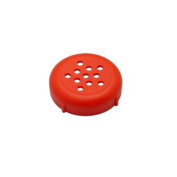 85736 - Forever Lids - 242R - Red Shaker Lid Product Image