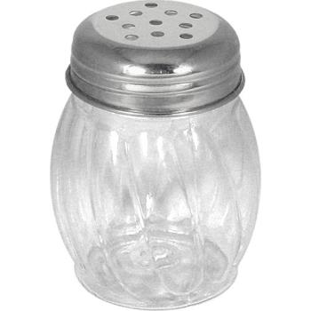 ITWISPIE - ITI - ISP-I-E - 6 oz Stainless Steel Cheese Shaker with Perforated Top Product Image