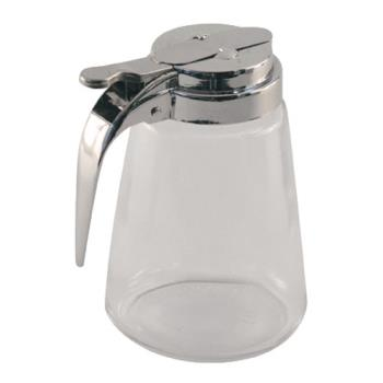 86231 - Tablecraft - 1371 - 12 oz Glass Syrup Dispenser Product Image