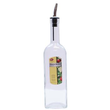 TABH716 - Tablecraft - H716 - 17 oz Piazza Glass Bottle w/ Pourer Product Image