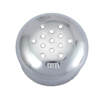 WING105C - Winco - G-105C - Stainless Steel Mushroom Cap Product Image