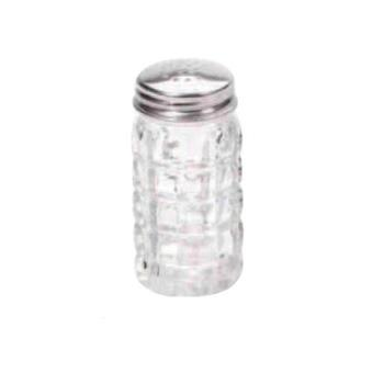 WING118 - Winco - G-118 - 2 Oz Glass Classic Shaker w/Flat Top Product Image