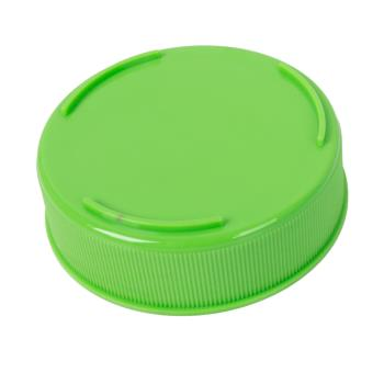 86789 - Tablecraft - 63FCAPLGN - 63 mm Light Green Invertatop™ Squeeze Bottle Cap Product Image