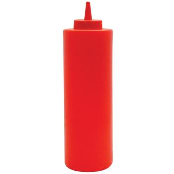85658 - Winco - PSB24R - 24 oz Red Squeeze Bottle Product Image