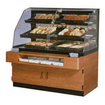 "FEDBPFD54SS - Federal - BPFD-54SS - 54"" x 56"" Non-Refrigerated Self-Serve Floor Display Case Product Image"