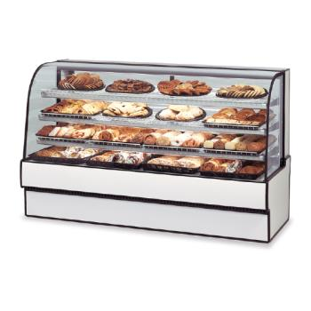 "FEDCGD5042 - Federal - CGD5042 - Curved Glass 50"" x 42"" Non-Refrigerated Bakery Case  Product Image"
