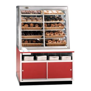 "FEDWDC42 - Federal - WDC-42 - 42"" x 62"" Non-Refrigerated Self-Serve Wall Display Case Product Image"