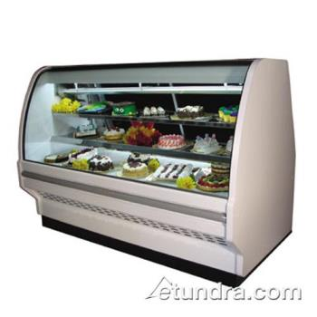 "HWDDCBS40E8CLS - Howard McCray - D-CBS40E-8C-LS - 99"" x 53"" White Dry Bakery Case Product Image"