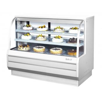 TURTCGB60DRWN - Turbo Air - TCGB-60DR-W-N - 60 in White Non-Refrigerated Bakery Case Product Image