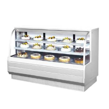 TURTCGB72DR - Turbo Air - TCGB-72-DR - 72 in Non-Refrigerated Bakery Case Product Image