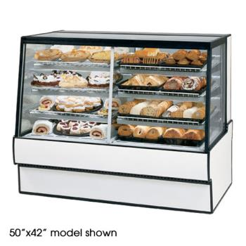 "FEDSGR7748DZ - Federal - SGR7748DZ - High Volume 77"" x 48"" Dual Zone Left/Right Bakery Case Product Image"