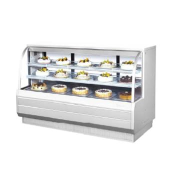 TURTCGB72CO - Turbo Air - TCGB-72-CO - 72 in Dual Zone Bakery Case Product Image